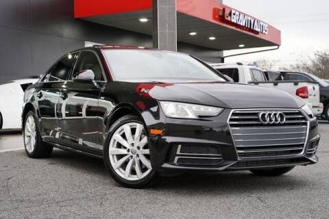 2018 Audi A4 for sale at Gravity Autos Roswell in Roswell GA
