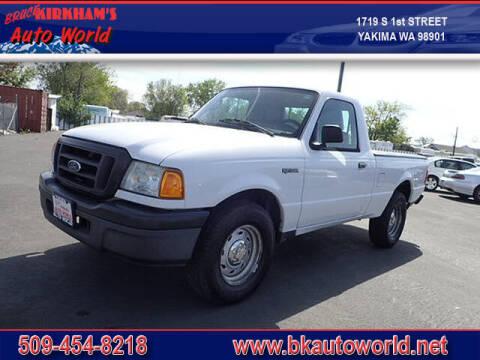 2005 Ford Ranger for sale at Bruce Kirkham Auto World in Yakima WA