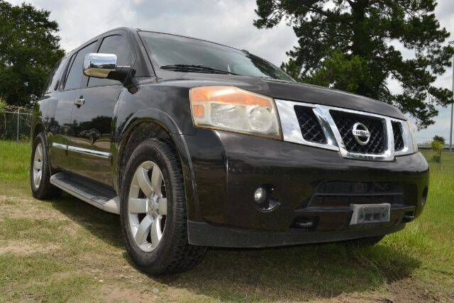 2011 Nissan Armada for sale at WOODLAKE MOTORS in Conroe TX