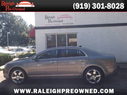 2012 Chevrolet Malibu for sale at Raleigh Pre-Owned in Raleigh NC