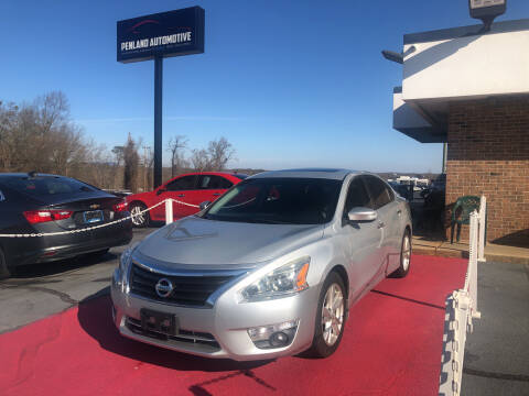 2015 Nissan Altima for sale at Penland Automotive Group in Taylors SC