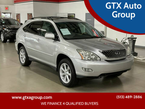 2009 Lexus RX 350 for sale at GTX Auto Group in West Chester OH