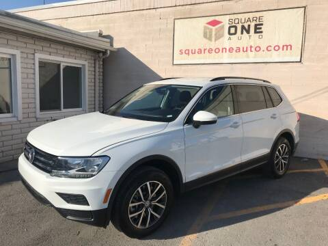 2020 Volkswagen Tiguan for sale at SQUARE ONE AUTO LLC in Murray UT