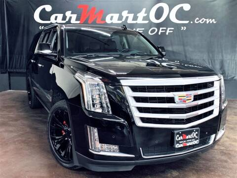 2015 Cadillac Escalade ESV for sale at CarMart OC in Costa Mesa, Orange County CA