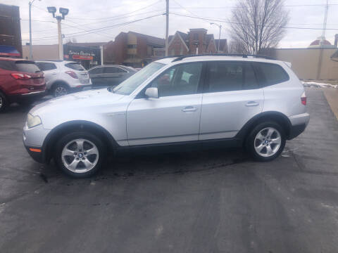 2007 BMW X3 for sale at N & J Auto Sales in Warsaw IN