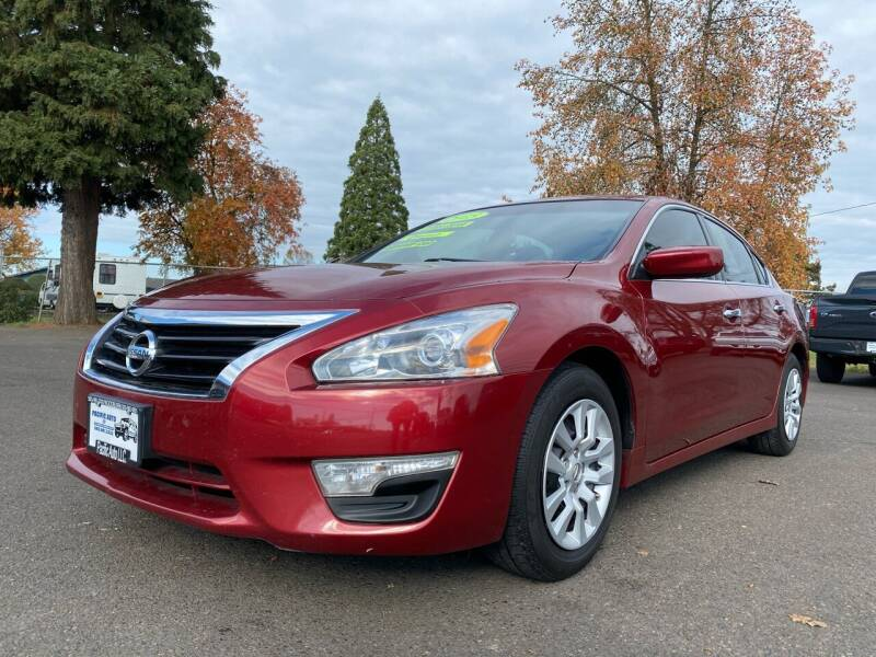 2015 Nissan Altima for sale at Pacific Auto LLC in Woodburn OR