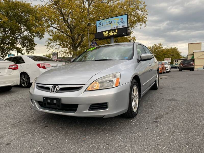2007 Honda Accord for sale at All Star Auto Sales and Service LLC in Allentown PA
