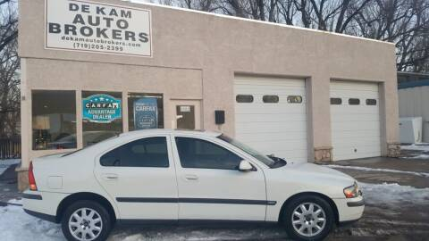 2001 Volvo S60 for sale at De Kam Auto Brokers in Colorado Springs CO