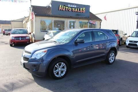 2013 Chevrolet Equinox for sale at BANK AUTO SALES in Wayne MI