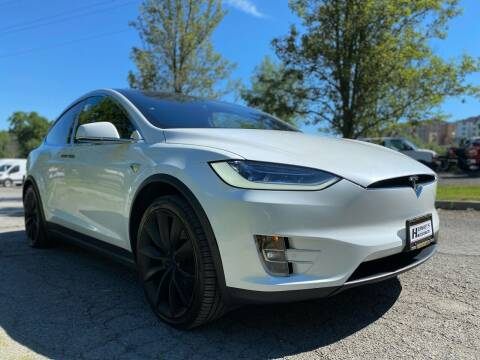2020 Tesla Model X for sale at HERSHEY'S AUTO INC. in Monroe NY