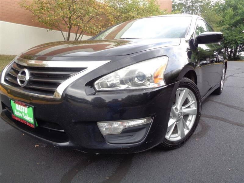 2013 Nissan Altima for sale at Dasto Auto Sales in Manassas VA