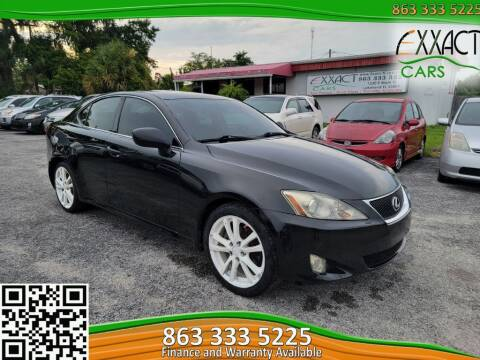 2006 Lexus IS 250 for sale at Exxact Cars in Lakeland FL