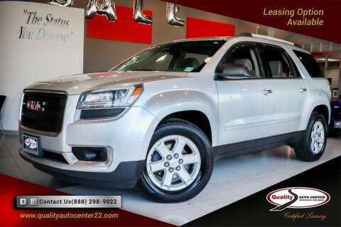 2015 GMC Acadia for sale at Quality Auto Center of Springfield in Springfield NJ