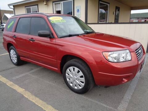2008 Subaru Forester for sale at BBL Auto Sales in Yakima WA