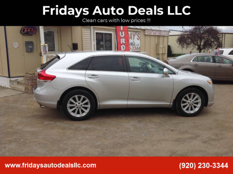 2012 Toyota Venza for sale at Fridays Auto Deals LLC in Oshkosh WI
