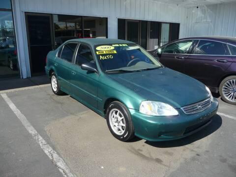 2000 Honda Civic for sale at CENTURY MOTORS in Fresno CA