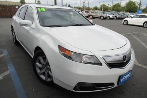 2014 Acura TL for sale at Choice Auto & Truck in Sacramento CA