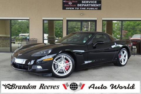 2008 Chevrolet Corvette for sale at Brandon Reeves Auto World in Monroe NC