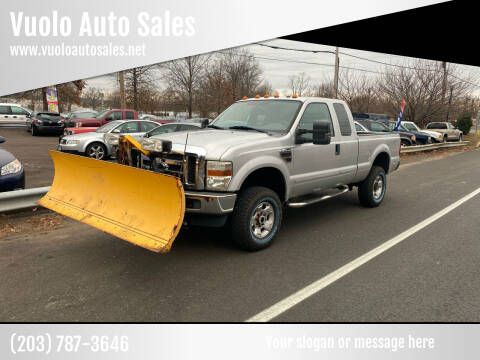 2009 Ford F-250 Super Duty for sale at Vuolo Auto Sales in North Haven CT