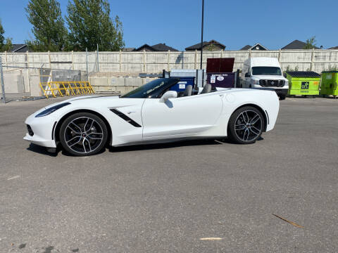 2015 Chevrolet Corvette for sale at Truck Buyers in Magrath AB