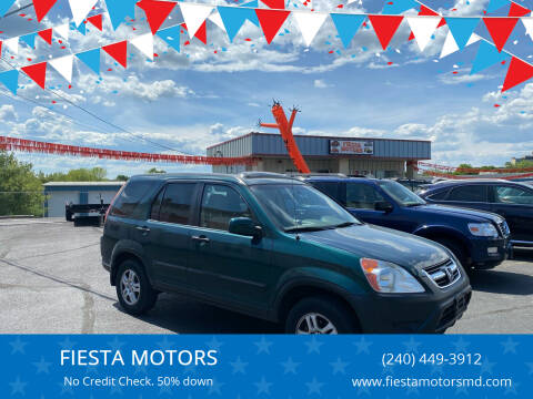 2003 Honda CR-V for sale at FIESTA MOTORS in Hagerstown MD