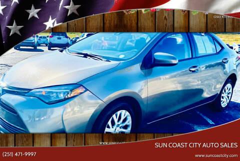 2018 Toyota Corolla for sale at Sun Coast City Auto Sales in Mobile AL