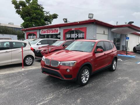 2015 BMW X3 for sale at CARSTRADA in Hollywood FL