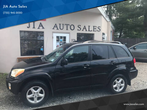 2003 Toyota RAV4 for sale at JIA Auto Sales in Port Monmouth NJ