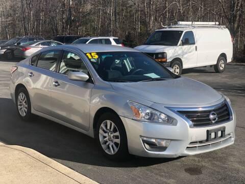 2015 Nissan Altima for sale at Elite Auto Sales in North Dartmouth MA