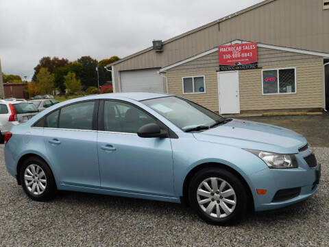 2011 Chevrolet Cruze for sale at Macrocar Sales Inc in Akron OH