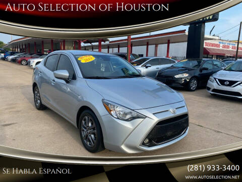 2019 Toyota Yaris for sale at Auto Selection of Houston in Houston TX