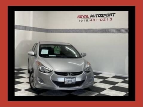 2012 Hyundai Elantra for sale at Royal AutoSport in Sacramento CA