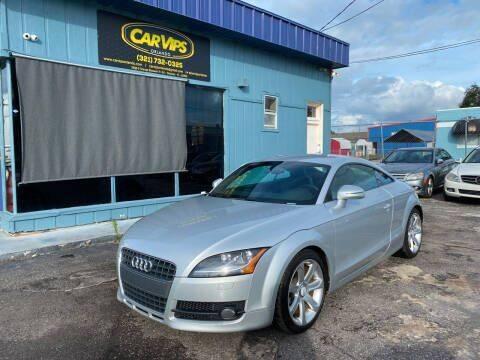 2009 Audi TT for sale at CAR VIPS ORLANDO LLC in Orlando FL
