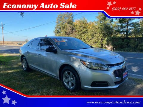 2016 Chevrolet Malibu Limited for sale at Economy Auto Sale in Modesto CA