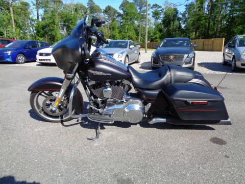 2016 HARLEY DAVIDSON STREET GLIDE for sale at BALKCUM AUTO INC in Wilmington NC