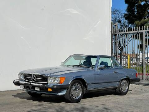 1987 Mercedes-Benz 560-Class for sale at Corsa Exotics Inc in Montebello CA