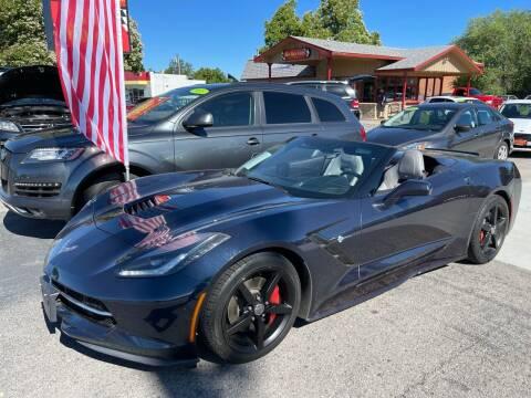 2015 Chevrolet Corvette for sale at ALIC MOTORS in Boise ID