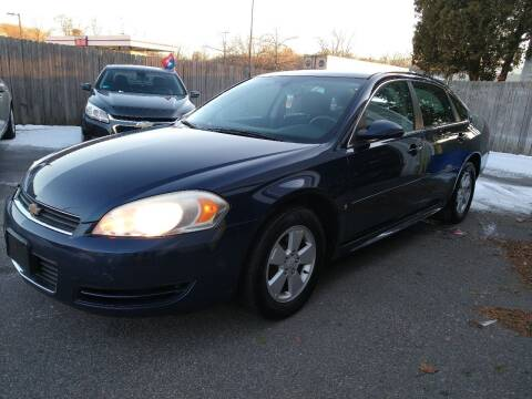 2009 Chevrolet Impala for sale at Capital Auto Sales in Providence RI