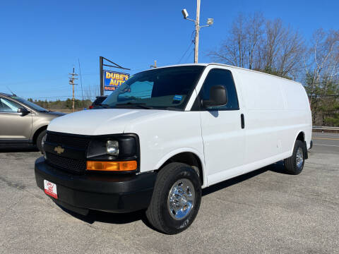 2015 Chevrolet Express Cargo for sale at Dubes Auto Sales in Lewiston ME