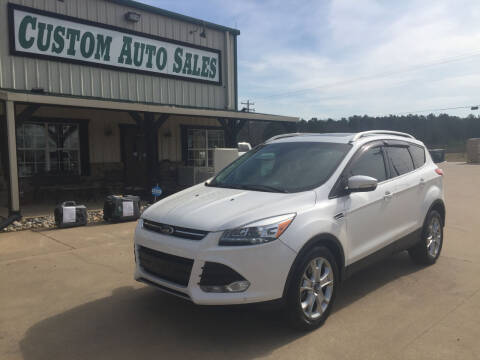 2016 Ford Escape for sale at Custom Auto Sales - AUTOS in Longview TX