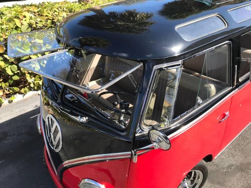 1961 Volkswagen Vanagon Split Window Deluxe - Boca Raton FL