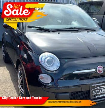 2012 FIAT 500 for sale at City Center Cars and Trucks in Roseburg OR