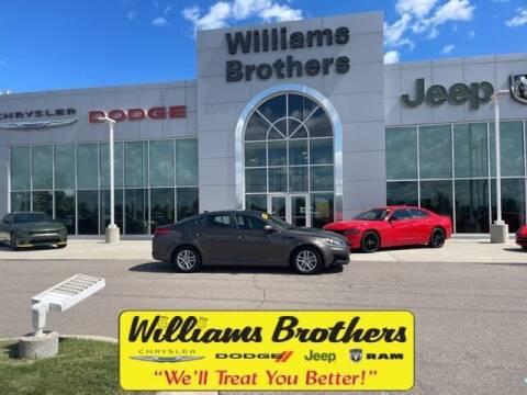 2011 Kia Optima for sale at Williams Brothers - Pre-Owned Monroe in Monroe MI