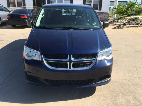2016 Dodge Grand Caravan for sale at Zoom Auto Sales in Oklahoma City OK