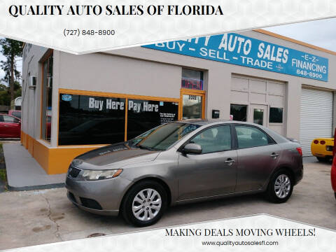 2011 Kia Forte for sale at QUALITY AUTO SALES OF FLORIDA in New Port Richey FL