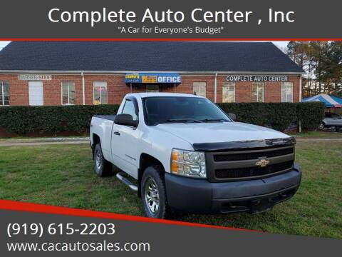 2008 Chevrolet Silverado 1500 for sale at Complete Auto Center , Inc in Raleigh NC