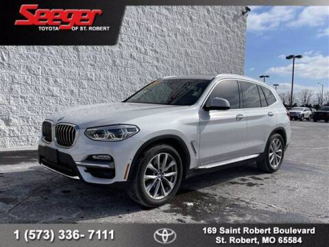 2018 BMW X3 for sale at SEEGER TOYOTA OF ST ROBERT in St Robert MO