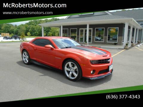 2010 Chevrolet Camaro for sale at McRobertsMotors.com in Warrenton MO