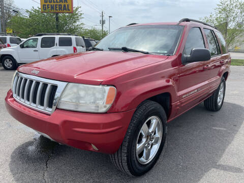 2004 Jeep Grand Cherokee for sale at Diana Rico LLC in Dalton GA