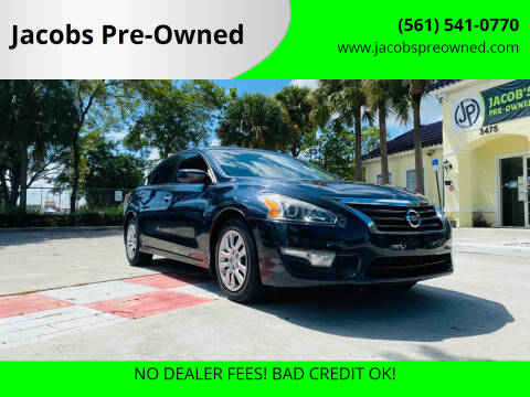 2015 Nissan Altima for sale at Jacobs Pre-Owned in Lake Worth FL